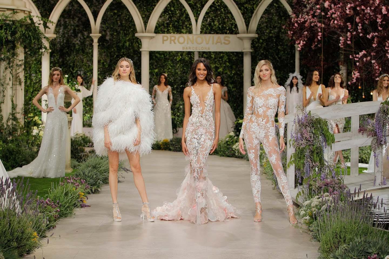 Florale Noblesse: die Atelier Pronovias Fashion Show 2019