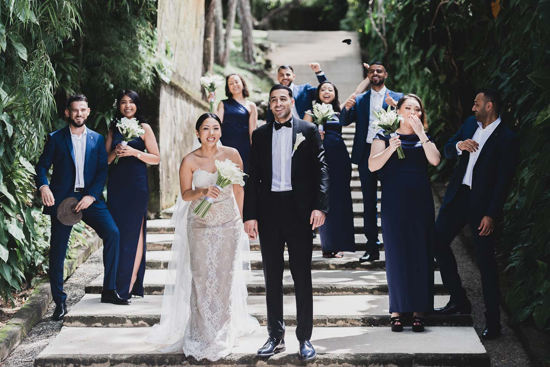 Azza & Waseem: Glamouröse Traumhochzeit auf Bali