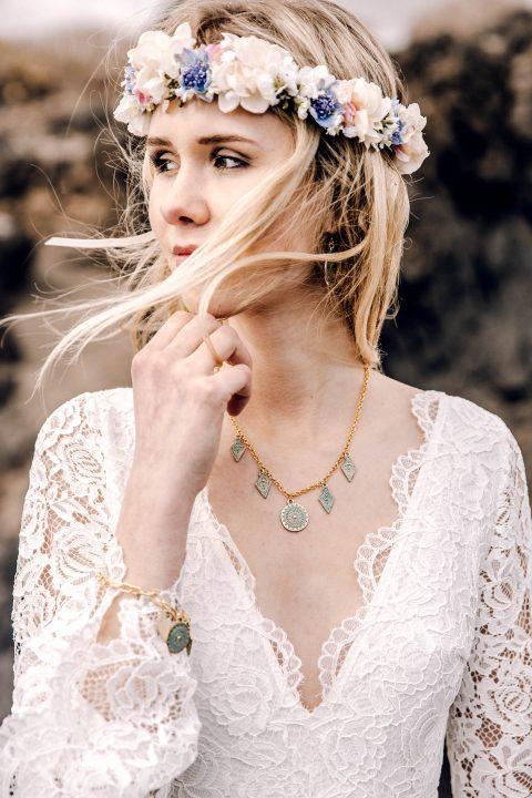 Floral Chic – die Haarschmuck-Kollektion von Fleuriscoeur