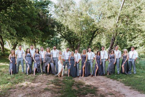 Larissa & Devin: Hochzeitswochenende auf einer Farm