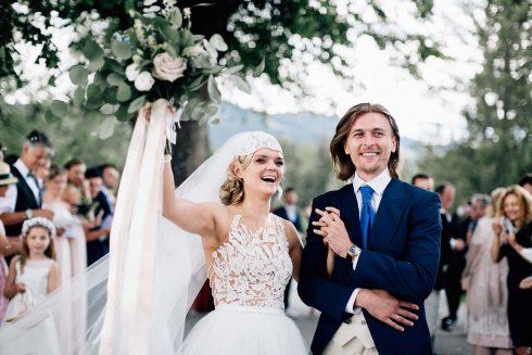 Natalie & Krystian: Ein malerisches Fest der Liebe