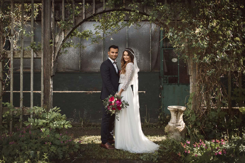 Dominique & Erhan: DIY-Wedding in der alten Gärtnerei