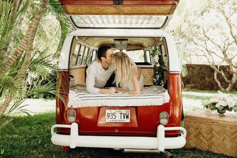 Süsse Verlobung auf Hawaii