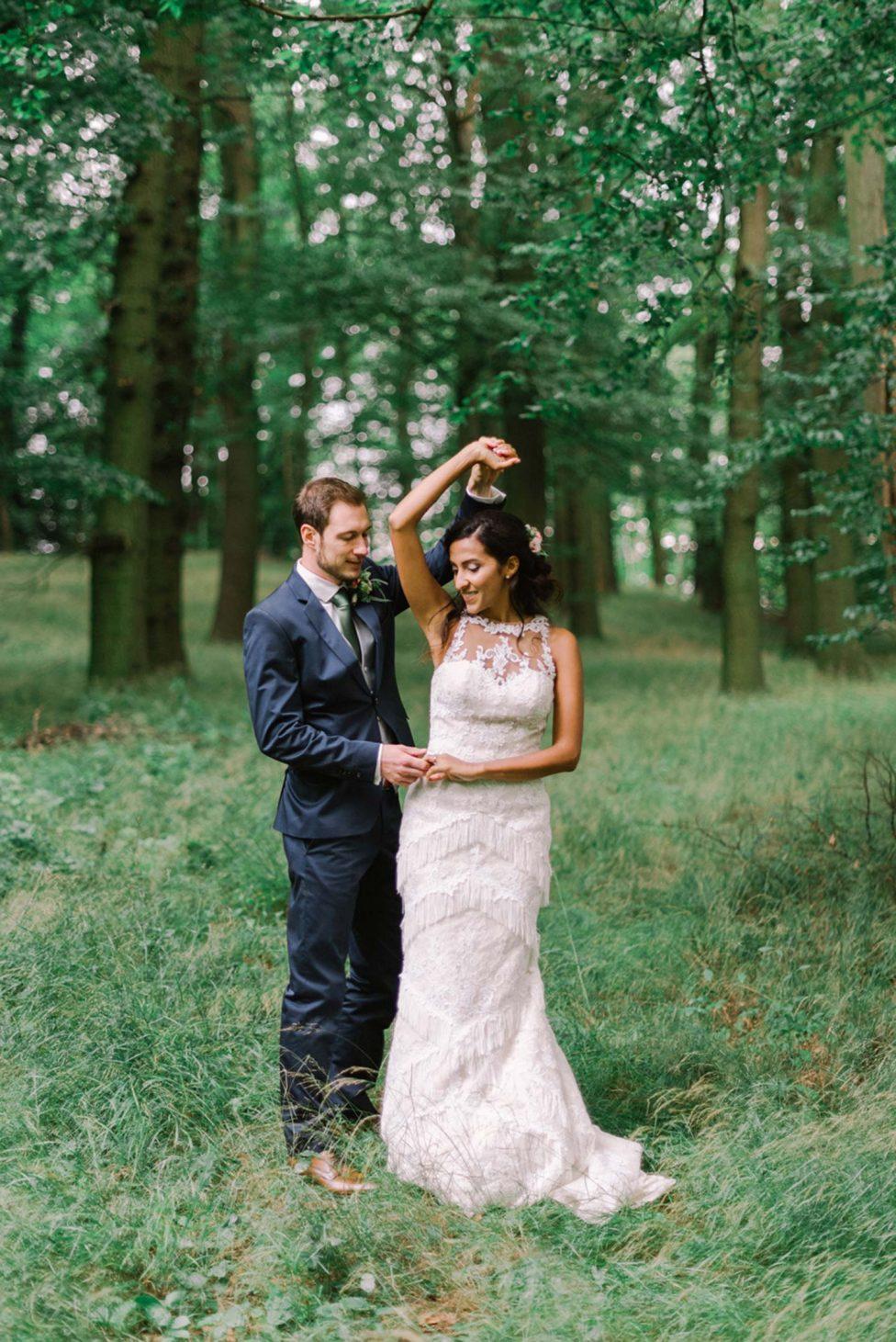 Natalia & Carlo: Shabby-Chic Hochzeit im Rittergut Altenrode