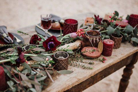 Boho-Hochzeitsinspiration in den Sanddünen bei Speyer