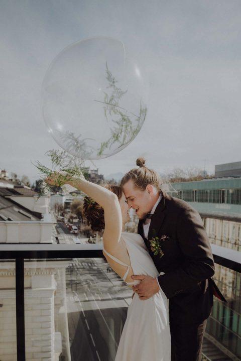 Natürliche Hochzeitseleganz in Salzburg