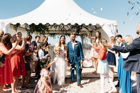 Jennifer & Felix: Hochzeit an der Nordsee