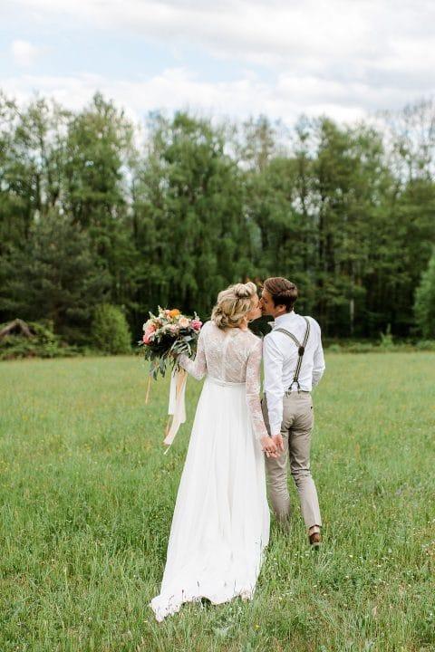 Hochzeitsträume im Kastaniengarten
