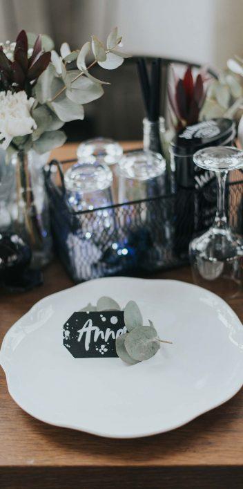 Hochzeitsinspiration: Urban & Rockig in Schwarz-Weiß