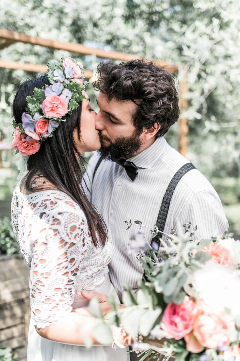 Hochzeitsinspiration: Freie Trauung in der Toskana