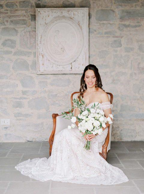 Bruna & David: Romantische Hochzeit unter der Sonne der Toskana