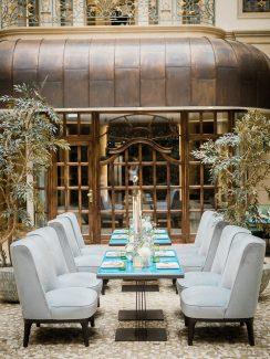 Glamouröses Blau & Gold im Gewandhaus Dresden