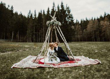 Wild & Frei: Eine Boho-Hochzeitsinspiration im Schwarzwald