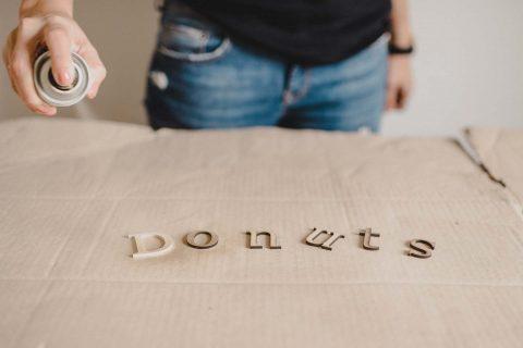 Donut-it-yourself: Die Donut-Bar zum Selberbasteln