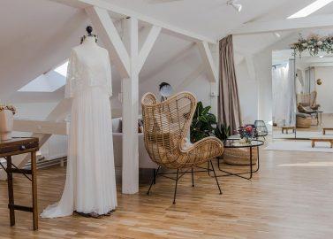"""Hochzeitsmode im Boho-Stil bei """"Elas Bräute"""" in Mainz"""