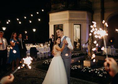 Vanessa & Michael: Bella Italia in der Villa Alceo