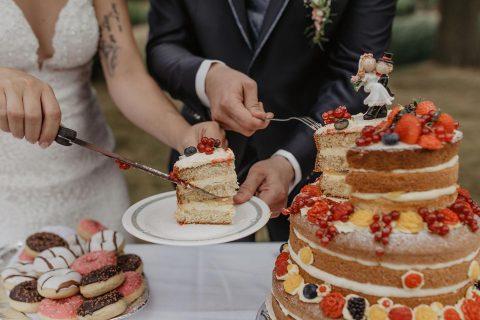 Tina & Marcus: Open-Air-Hochzeit im Schlossgarten