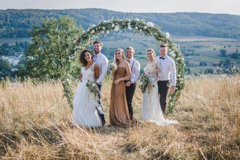 Freie Hochzeit im Golden Summer