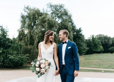 Katrin & Tom: Industrial-Bohohochzeit in Hamburg