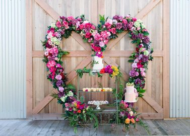 Glamping-Hochzeitsinspiration am Seeufer