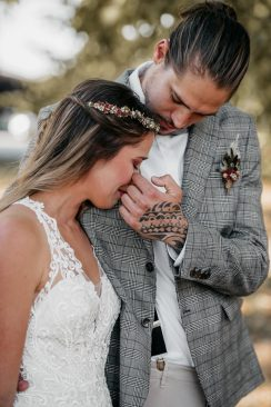 Vegane Hochzeitsinspiration im Gutshof Ladenburg