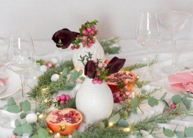 Türchen 16 – Weihnachtliche Tischdeko selbstgemacht