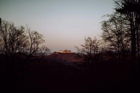 Winterhochzeitsinspiration in der Villa Clausberg