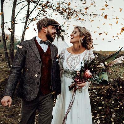 Bohemian-Inspiration in satten Herbstfarben