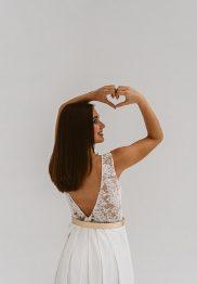 Brautmode zum Kombinieren: Die Kollektion 2019 von Victoria Rüsche