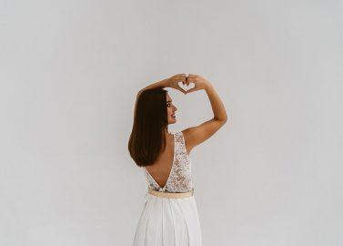Brautmode zum Kombinieren: Die neue Kollektion von Victoria Rüsche