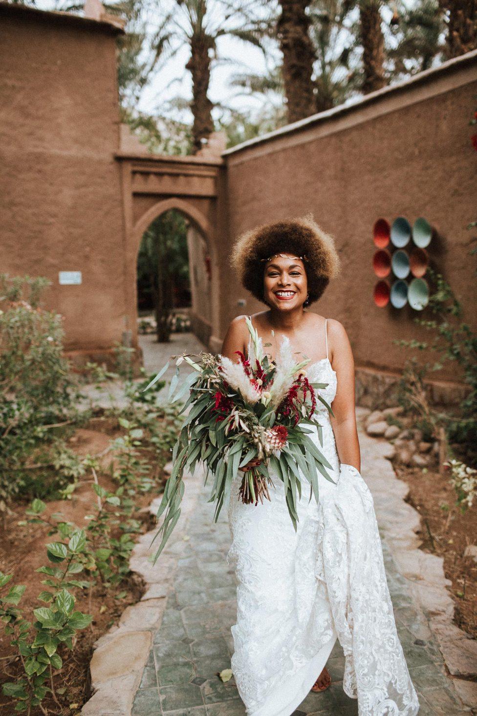 Jea & Justin: Romantisches Elopement in Sahara von Marokko