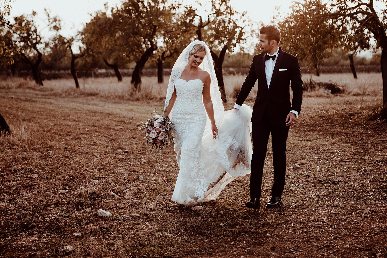 Kristina & Patrick: Sommerliche Boho-Hochzeit in Mallorca