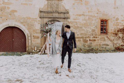 Schloss Stauffenberg Hochzeitsinspiration im Winterwunderland