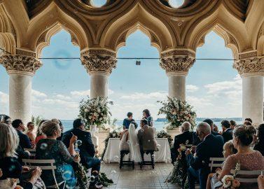 La Dolce Vita Hochzeit am Gardasee in der Villa Arcadio
