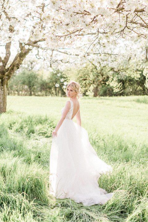 Hochzeitsinspiration im blühenden Frühling