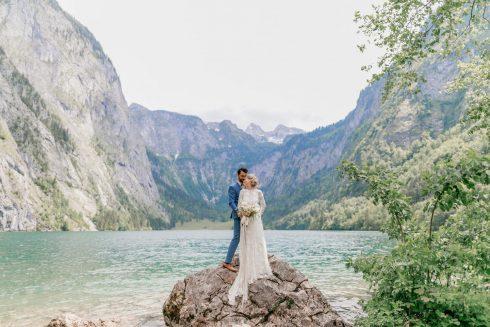 Nadja & David: Traumhochzeit in den Bergen
