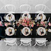 Hochzeitsinspiration: Black is beautiful