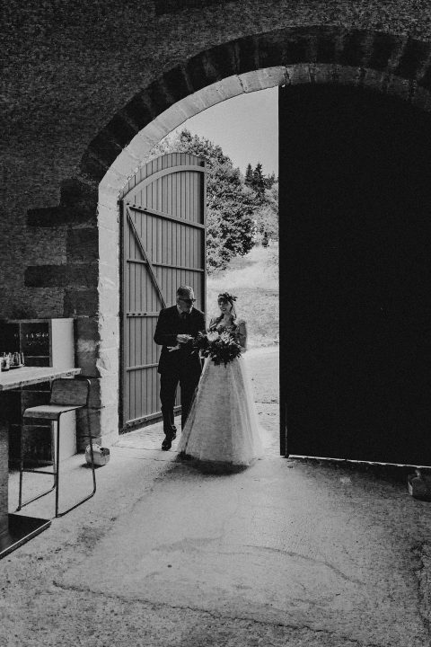 Refugium St. Gangolf: Boho-Hochzeit im Industrial Style