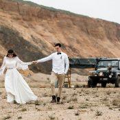 Hochzeitsinspiration: Van-Life Abenteuer