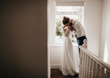 Valeria & Marcel: Ländliche Hochzeit mit Boho-Charme