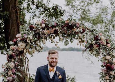 Sommerlich-schicke Hochzeit auf Gut Schloss Golm