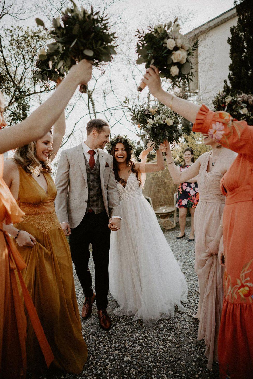 Boho Hochzeitsinspiration im Flower-Power-Chic
