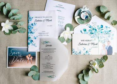 Das A und O der Hochzeitseinladung
