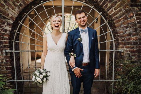 Hochzeitspaar authentisch