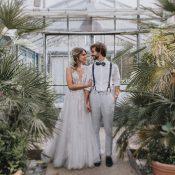 Vegane Boho-Hochzeit in der Alten Gärtnerei