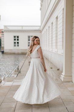 elementar – das faire Brautkleid in Bio-Qualität