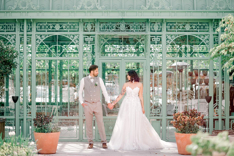 Hochzeitsinspiration im französischen Garten
