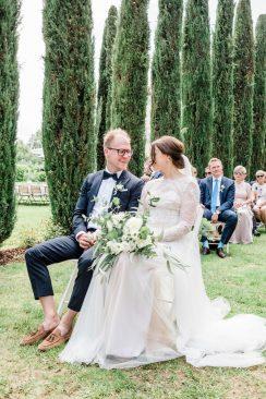 Das perfekte Tinder-Match gefolgt von der Hochzeit im Weingut Mussler