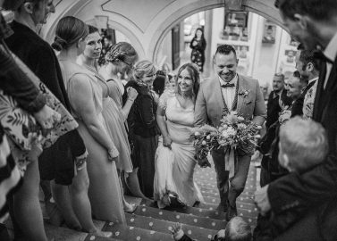 Hochzeit im italienischen Palazzo Novello
