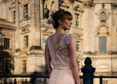 Glamoröse Boho Brautkleider von Tilda Knopf Bridal